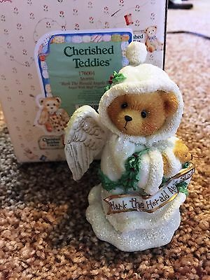 Cherished Teddies Stormi Mint Rare Enesco 1996 Extremely Low Number! 176001