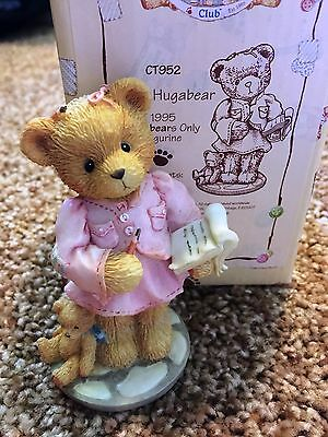 Cherished Teddies Hilary Hugabear Mint Rare Enesco 1995 Members Only CT952