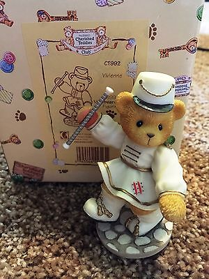 Cherished Teddies Vivienne Mint Rare Enesco 1999 Members Only CT992
