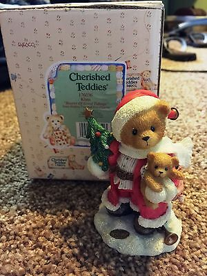 Cherished Teddies Klaus Mint Rare Enesco low number! 1996 176036