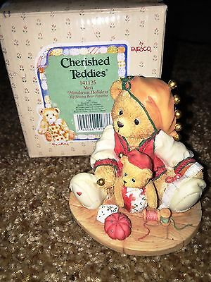 Cherished Teddies Meri Mint Rare Enesco low number! 1995 5C9/474