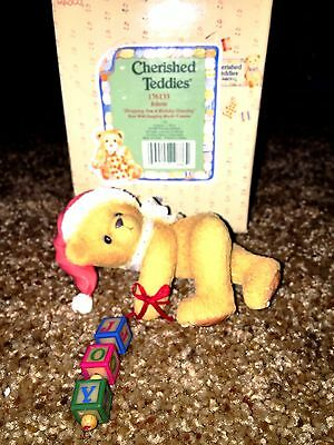 Cherished Teddies Jolene Mint Rare Enesco low number! 1996 176133