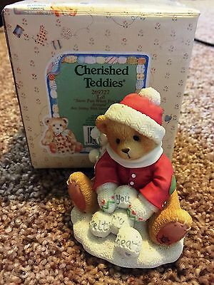 Cherished Teddies Ted Mint Rare Enesco low number! 1997 269727