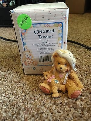 Cherished Teddies Thanksgiving Phoebe 1994 Box 617113 Mint Rare