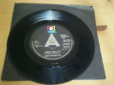 """MIGHTY CLOUDS OF JOY Mighty High 7"""" B/w Touch My Soul abc4102 UK 1975 DEMO PROMO"""