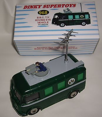 DINKY TOYS SUPERTOYS 968 B.B.C. TV Roving Eye Vehicle mint in Box - sehr selten
