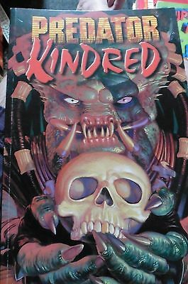 predator kindred first edition 1997 rare graphic novel comic dark horse