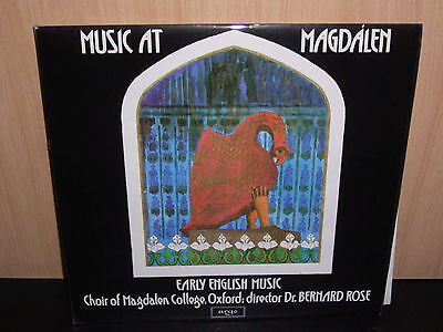 Choir of Magdalen - Early English Music !