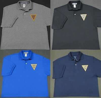 New Jersey State Police Patch Polo Shirt - MED to 3XL - 4 Colors - NEW