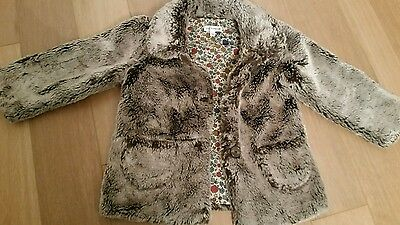 Marks and spencer Autograph aged 3-4 faux fur jacket