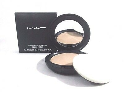 Mac Studio CareBlend Pressed Powder ~ Light ~ 0.35 oz ~