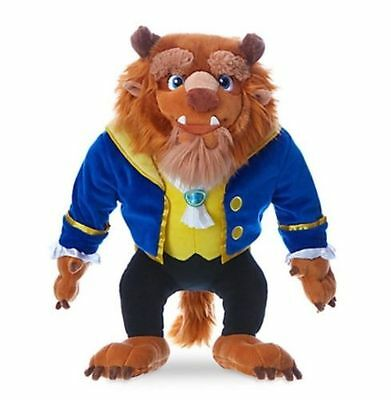 Disney Beast Plush Soft Toy, Beauty & The Beast, Brand New With Tags