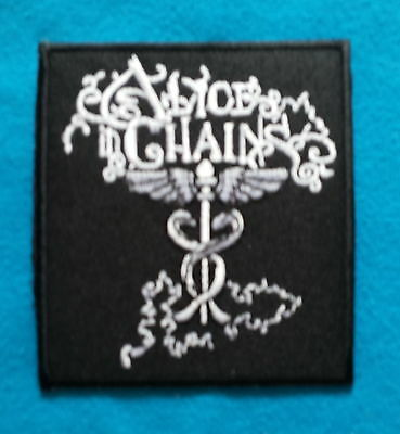 ALICE IN CHAINS METAL THRASH METAL  Embrodered Iron/SEW Patch Free Shipping