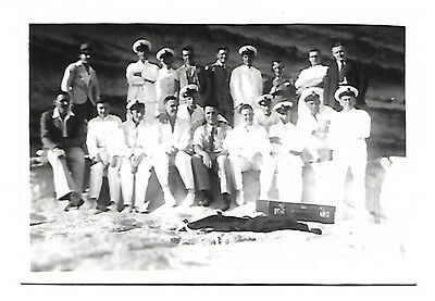 HMS Repulse - Photograph of officers in Malta in 1938