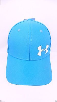 NEW Under Armour Youth Baseball Cap Hat Sky Blue Size Girls Youth OSFM