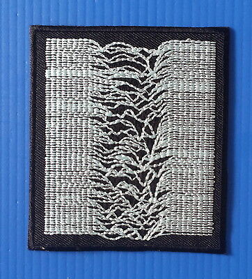JOY DIVIVSION 3 Inch Iron Or Sewn On Embroidered Patch Free Ship