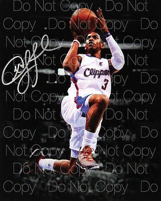 Chris Paul signed The Clippers 8X10 photo picture signed autograph RP