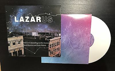 DAVID BOWIE - LAZARUS (limited Edition) 3lp's Vinyl White