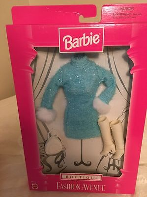 Barbie Boutique Fashion Avenue Nrfb From 1998 #18126