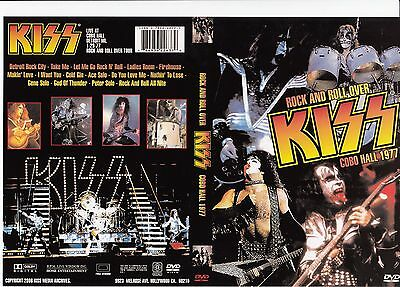 KISS Rock N Roll Over Cobo Hall Detroit MI 1/29/1977 Original DVD NEW
