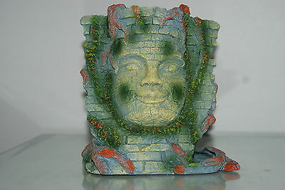 Detailed Aquarium Stone Bayon Face Ornament 17 x 10 x 19 cms
