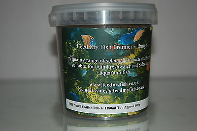 FMF Catfish & Bottom Feeding Aquarium Fish Food Pellets 1180ml Approx 600g Tub