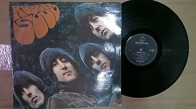 "The Beatles ""Rubber Soul"" on Parlophone PCS3075 stereo"