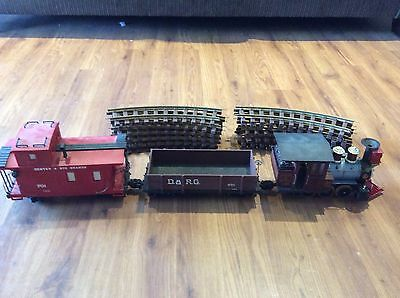 Lionel  Large Scale Trains With 12 Piece Track
