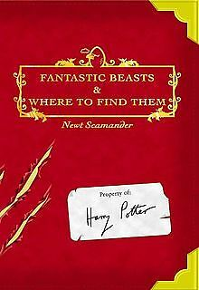 Fantastic Beasts & Where To Find Them Book 1st Edition J K Rowling as Scamander