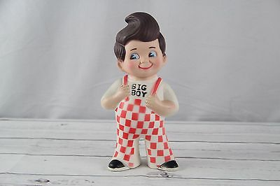 Vtg Big Boy Restaurant Bank Coin 1973 Vinyl/rubber/plastic Figure 9""