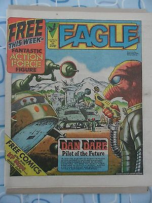 Vintage Classic Eagle Comic 14th July 1984 No Figure Included