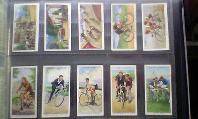 Full Set Players Cycling Cigarette Cards. 1939.
