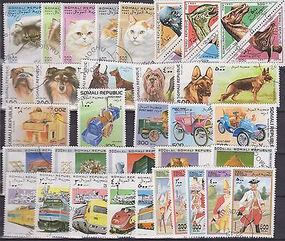 Somali Republic 1997 lot used stamps unlisted or unfound