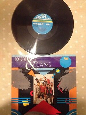 Kool and the Gang -Straight Ahead -12 inch vinyl-disco classic -picture sleeve