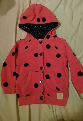 Girls next 3-4 years thick fleece winter Christmas