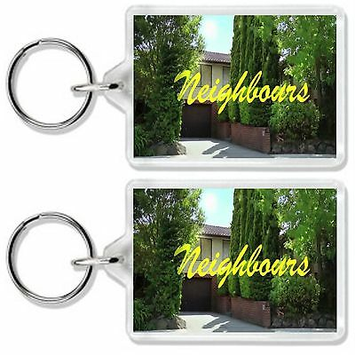 Neighbours Classic Tv Show Keyring *great Gift* Uk Seller