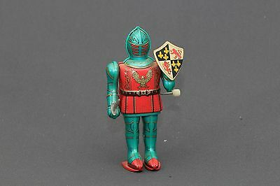 Vintage T.M. (Japan) Knight In Armour Wind Up Tin Toy