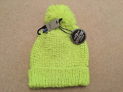 Next Boys or girl reflective bobble hat size 7 8 9 10 years BNWT