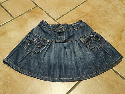 Next blue denim skirt to fit 2-3 year old girl