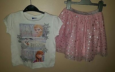 Frozen Outfit Size 5-6yrs.