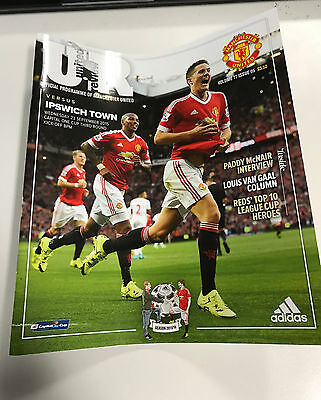 United Review - Manchester United V Ipswich Town programme 2016 Ander Herrera