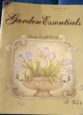 Garden Essentials Folk Art Tole Painting Vol. 4 - Linda Lock