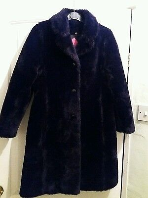 Girls faux fur coat