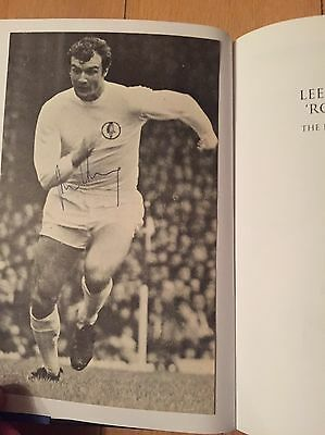Leeds United Rolls Royce The Paul Madely Story Signed Book