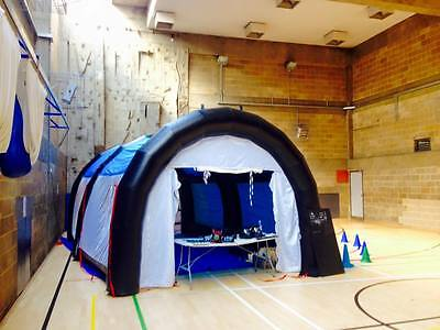 Inflatable Paintball Shooting Range Tent For Sale - Business For Sale - £2700
