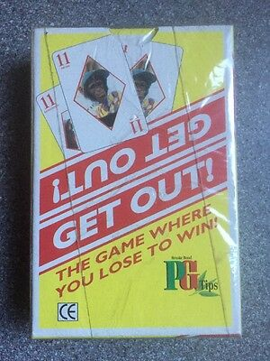 PG TIPS GET OUT playing card game - pack SEALED