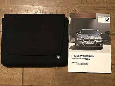 Genuine Bmw 3 Series Owners Manual And Wallet 2008-2011