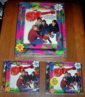 Hey Hey We're The Monkees CD-ROM 1996 - Full Variant Set (3 versions) + extra CD