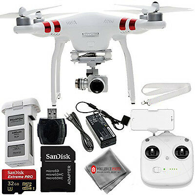 DJI Phantom 3 Standard with 2.7K Camera and 3-Axis Gimbal! READY TO FLY KIT! NEW