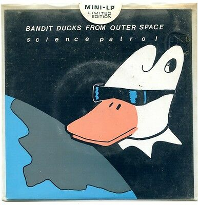 """Science Patrol – Bandit Ducks From Outer Space  - rare original 7"""" ex+/ex+"""